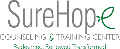 SureHope Counseling and Training Center Retina Logo