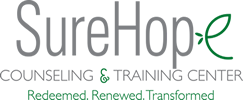 SureHope Counseling and Training Center Mobile Logo